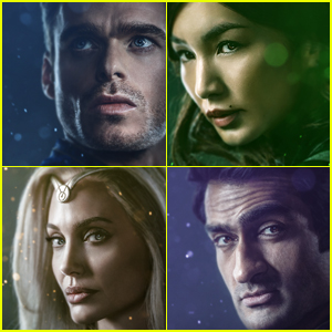 'Eternals' Character Posters Showcase the All-Star Cast!