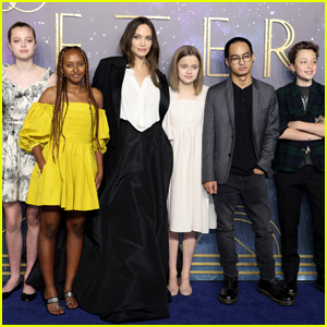 Angelina Jolie Brought Her Kids to the 'Eternals' Premiere!