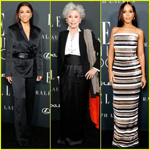 Eva Longoria & Kerry Washington Step Out to Honor Rita Moreno at Elle's Women in Hollywood Event!