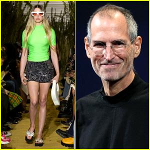 Steve Jobs' Daughter Eve Jobs Makes Her Runway Debut at Paris Fashion Week