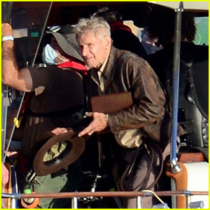 Harrison Ford Shoots Scenes for 'Indiana Jones 5' in Italy