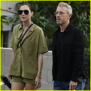 Gal Gadot & Husband Yaron Varsano Head Out on a Walk Around West Hollywood