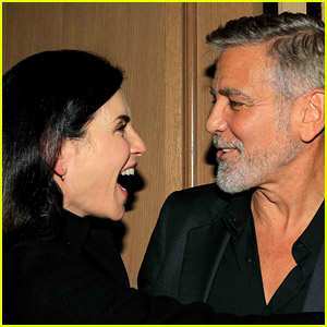 George Clooney Reunites with Julianna Margulies at 'The Tender Bar' Screening