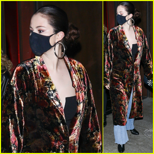 Selena Gomez Steps Out in Style for Dinner With Friends