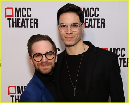 Jason Gotay and Michael Hartung red carpet photo