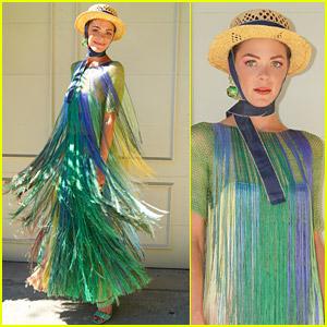 Jaime King Brings Fringe Fashion to Veuve Clicquot Polo Classic