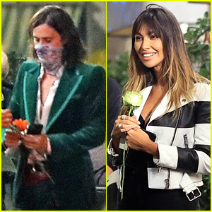 Jared Leto Brings Flowers To 'House of Gucci' Co-Star Madalina Ghenea During A Dinner Date in Milan