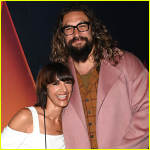 Jason Momoa Supports Director Ana Lily Amirpour at 'Mona Lisa And The Blood Moon' Screening in London