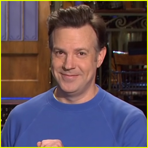 Jason Sudeikis Channels Ted Lasso in Promo for 'Saturday Night Live' Hosting Debut - Watch Now!