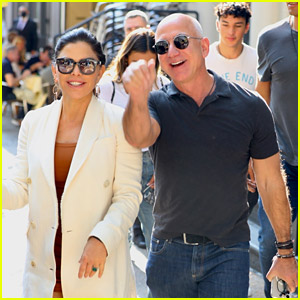 Jeff Bezos & Girlfriend Lauren Sanchez Are All Smiles After a Lunch Date in New York City