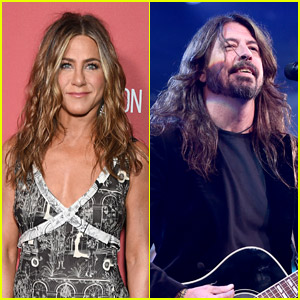 Jennifer Aniston Fan Girls Over Dave Grohl & Foo Fighters Guest Starring on 'The Morning Show'