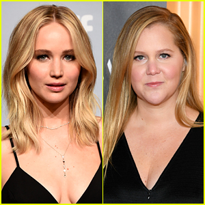 Jennifer Lawrence & Amy Schumer Are Fighting for Women's Rights Together at Rally for Abortion Justice