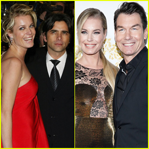 Jerry O'Connell Reacts to Wife Rebecca Romijn's Ex Husband John Stamos Moving to Their Neighborhood