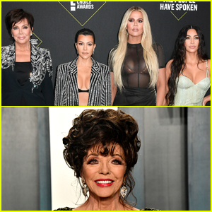 Joan Collins Shades the Kardashians Over Plastic Surgery Allegations