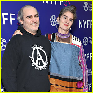 Joaquin Phoenix & Gaby Hoffman Premiere Their New Film 'C'Mon, C'Mon' in NYC