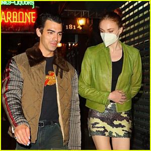 Joe Jonas & Sophie Turner Spotted On a Dinner & Movie Date in NYC
