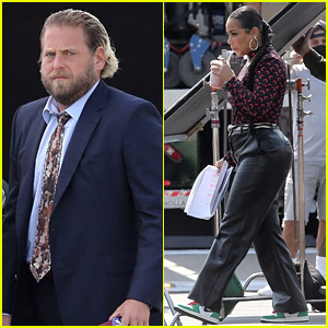 Jonah Hill Starts Filming on New Kenya Barris Project With Lauren London