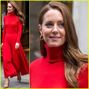 Duchess Kate Middleton Gives a Speech for Addiction Awareness Week