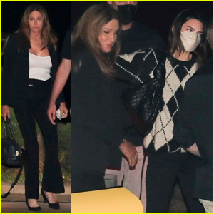 Kendall Jenner Steps Out for Dinner with Caitlyn Jenner in Malibu
