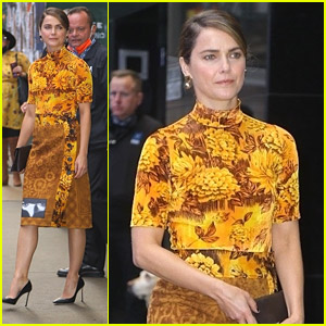 Keri Russell Promotes New Horror Movie 'Antlers' On GMA