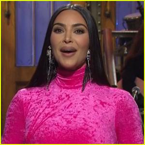 Kim Kardashian Jokes About O.J. Simpson, Plastic Surgery, & Her Divorce in 'Saturday Night Live' Monologue - Watch Now!