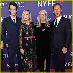 Kirsten Dunst, Benedict Cumberbatch & Kodi Smit-McPhee Bring 'Power of the Dog' To NYFF