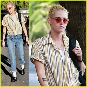 Kristen Stewart Steps Out To Lunch After Responding To Joker Fan Casting