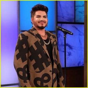 Adam Lambert Sings Tweets From Cher, Kris Jenner & Justin Bieber!
