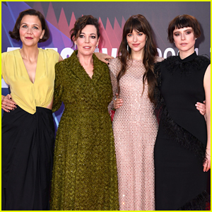 Dakota Johnson & Her Famous Co-Stars Attend 'Lost Daughter' Premiere