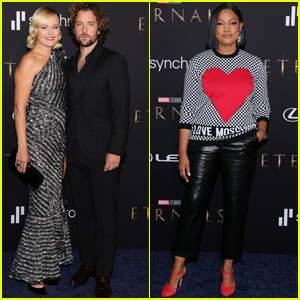 Malin Akerman & Jack Donnelly Join Garcelle Beauvais & More Stars for 'Eternals' L.A. Premiere