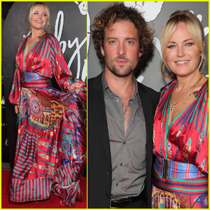 Malin Akerman & Husband Jack Donnelly Couple Up for AdoptTogether's Baby Ball 2021