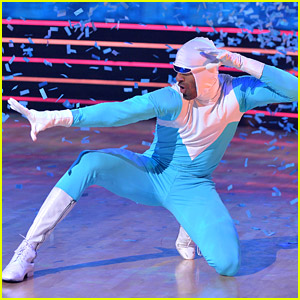 Matt James Turns Into Frozone from 'The Incredibles' for 'DWTS' Disney Heroes Night - Watch Now!
