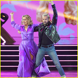 Melora Hardin Delivers Gorgeous Viennese Waltz For 'Grease Night' on DWTS