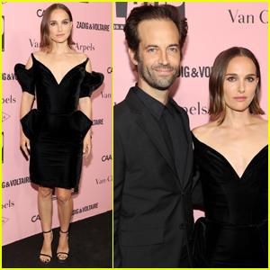Natalie Portman & Husband Benjamin Millepied Couple Up for  L.A. Dance Project Benefit