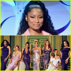 Nicki Minaj Really Did Show Up to Host the 'Real Housewives of Potmac' Reunion!