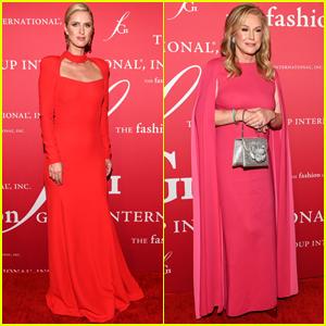 Nicky Hilton-Rothschild & Mom Kathy Hilton Go Glam for FGI's Night of Stars 2021