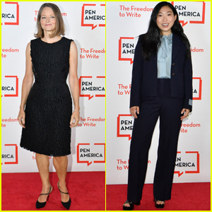 Jodie Foster & Awkwafina Step Out for 2021 PEN America Literary Gala