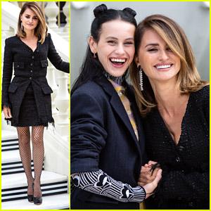 Penelope Cruz Promotes 'Madres Paralelas' in Madrid With Milena Smit