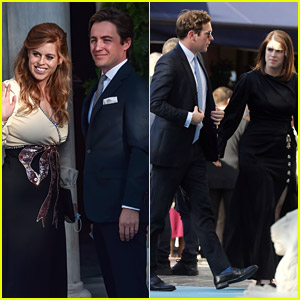 Princess Beatrice Marks First Appearance Since Welcoming Daughter At A Royal Wedding In Greece