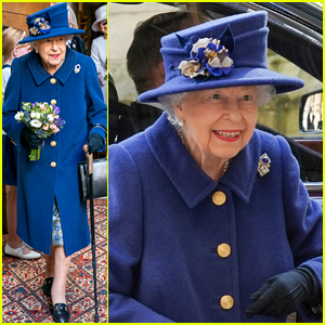 Queen Elizabeth Uses a Cane in Public for First Time in Years