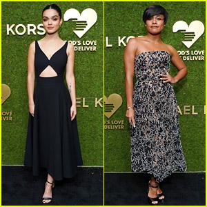West Side Story's Rachel Zegler & Ariana DeBose Glam Up for the Golden Heart Awards