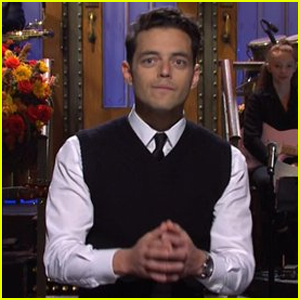 Rami Malek Explains Why He Likes Playing Villains in 'Saturday Night Live' Monologue - Watch!