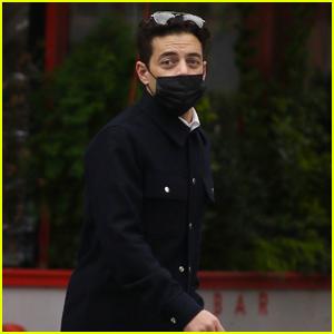 Rami Malek Masks Up for a Walk Around the Neighborhood in NYC