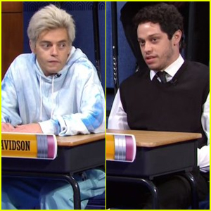 Rami Malek & Pete Davidson Impersonate Each Other in Hilarious 'Saturday Night Live' Sketch - Watch!