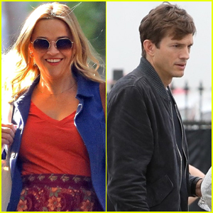Reese Witherspoon & Ashton Kutcher Continue Filming Their Rom-Com 'Your Place or Mine' in L.A.