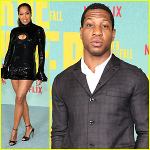 Regina King Sparkles at 'The Harder They Fall' Premiere in LA With Jonathan Majors