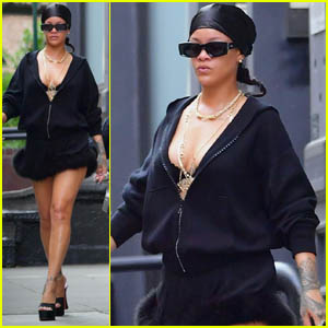 Rihanna Enjoys an Afternoon of Shopping in NYC