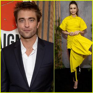 Robert Pattinson Attends GO Campaign Gala 2021 Alongside Lily Collins