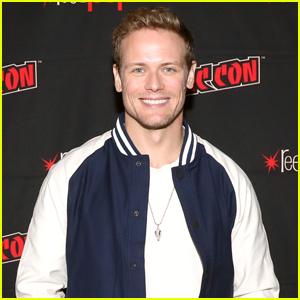 Sam Heughan Promotes 'Outlander' Season Six at New York Comic-Con 2021