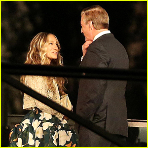 Sarah Jessica Parker & Chris Noth's Carrie & Big Are Back in Paris in New Set Photos!
